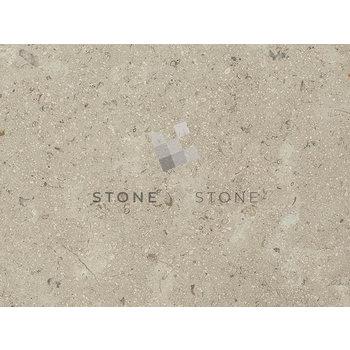 60x90/1,5cm - Marbre Sinaï Pearl - Sablé brossé - Beige Cendré