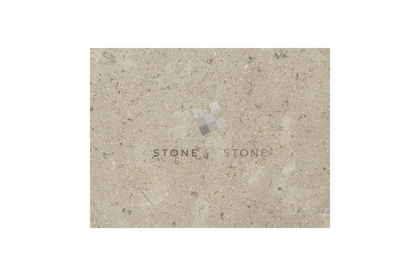 Dallage Marbre Sinaï Pearl - 60x90/1,5cm - Sablé brossé - Beige Cendré