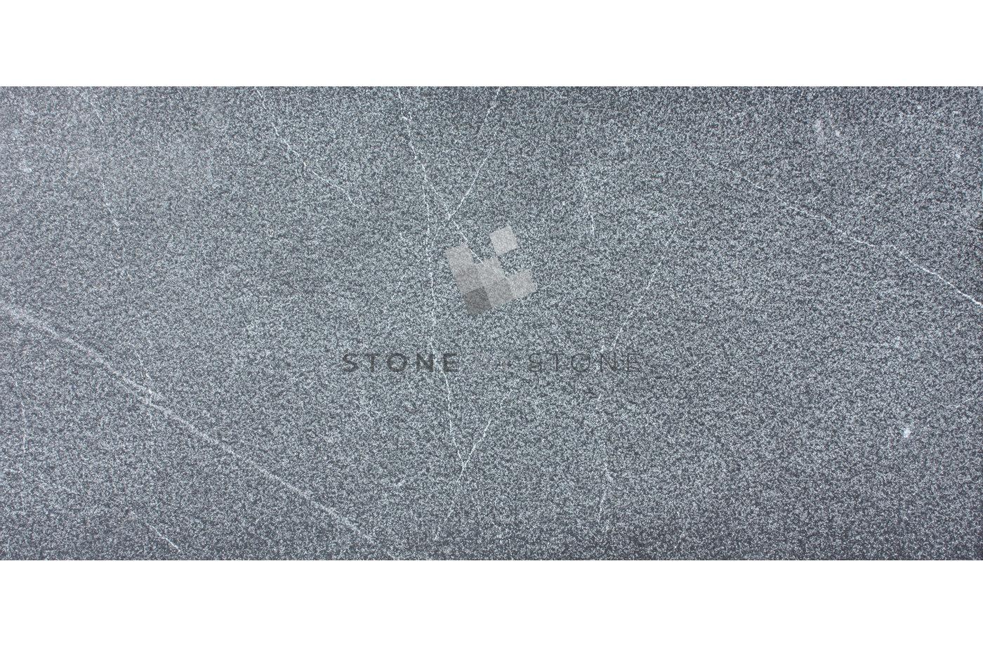 30x60/1,2cm - Pierre Marbrière - Sablé brossé - Anthracite