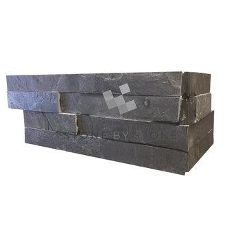 SLIMPANEL Angle - Parement mural - Quartzite - Ardoise noire