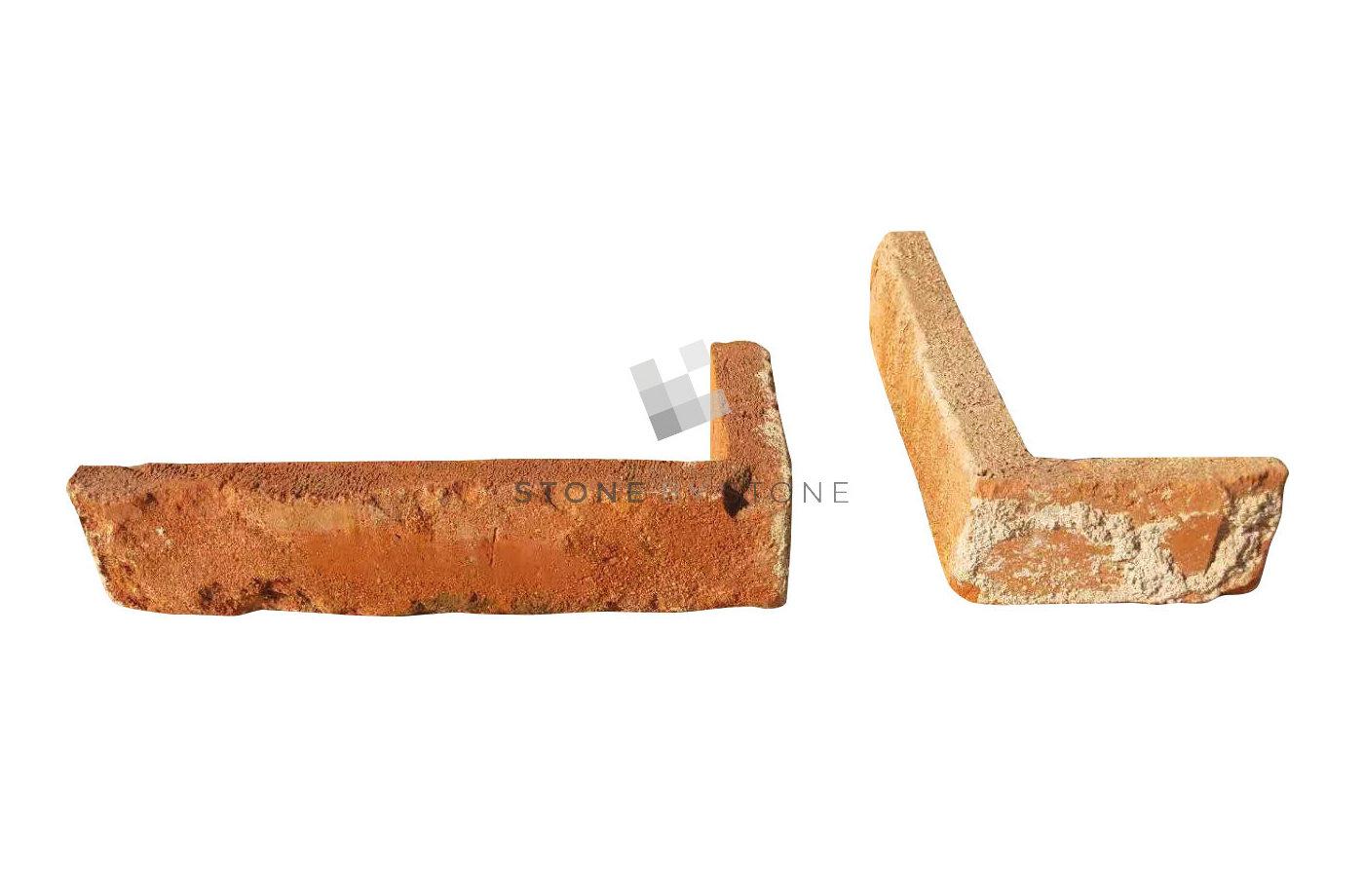 Briques de parement Angles - Récupération - Rouge