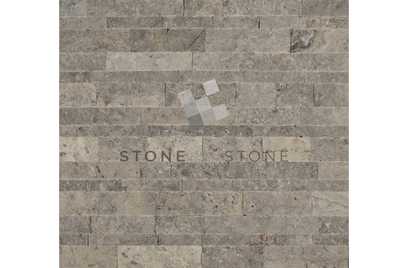 Mosaïque Murale Split Face Beige | Stone By Stone, Parement Mural