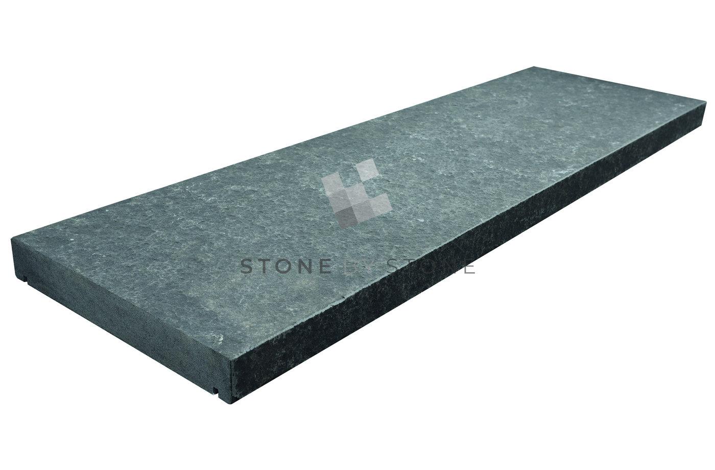 Couvertine 30x100/4cm - Basalte - Noir