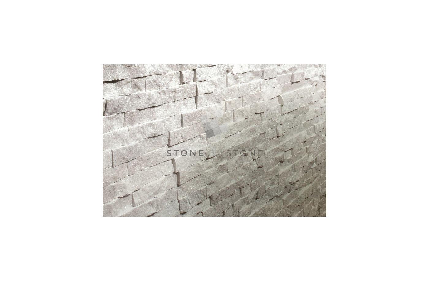 Slim Panel White Pearl - Pierres de Parement pour Revêtement Mural