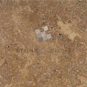 40x60/1,2cm - Travertin 1er Choix - Noce (Noisette)