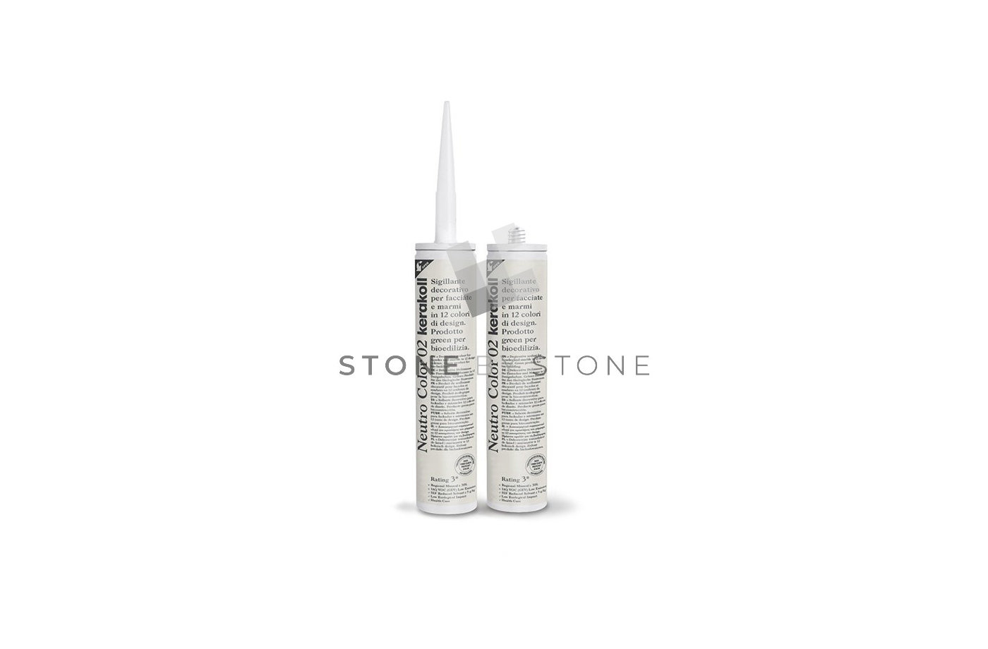 Silicone spécial pierre - KERAKOLL - Neutro Color Crème (20) - 310 ml