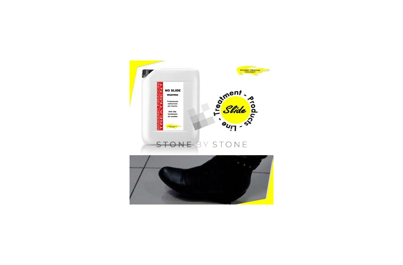 NO SLIDE - Traitement anti dérapant - 1 Litre