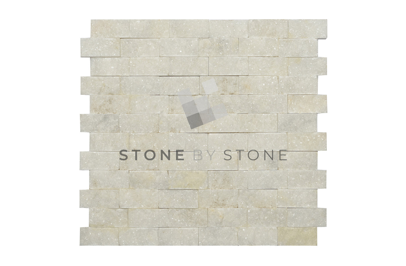 Split Face - Quartzite - White Pearl
